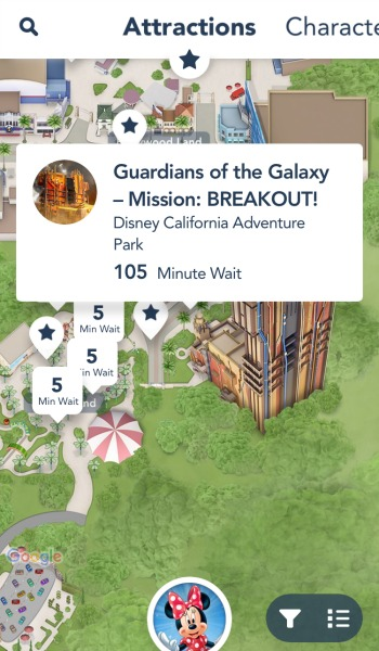 disneyland-app-guardians-of-the-galaxy-wait-time