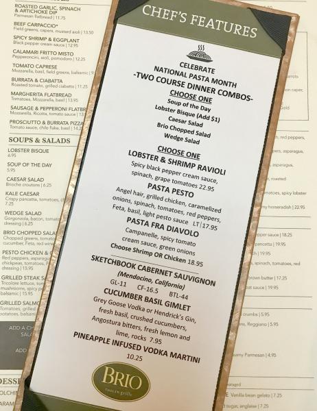 BRIO-menu