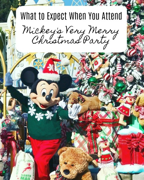 mickeys very merry christmas party is a specially ticketed event that has been on our familys disney bucket list for some time now - Mickeys Very Merry Christmas
