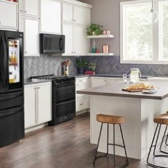 Best Buy Kitchen Appliances Table With Built In Bench Lg Matte Black Stainless Steel Exclusively At These Smart Are Wi Fi And Voice Enabled Which Allows You To Control Your Remotely Talk About Making Life