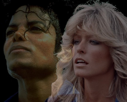 Image result for farrah fawcett and michael jackson