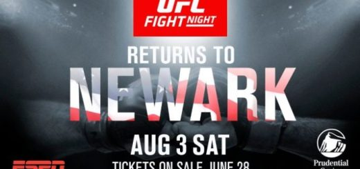 UFC returns to New Jersey