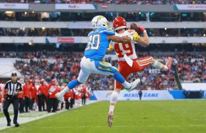 Chiefs Daniel Sorensen intercepts Philip Rivers
