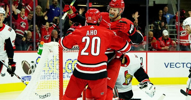 carolina hurricanes vs ottawa senators nov 11 2019