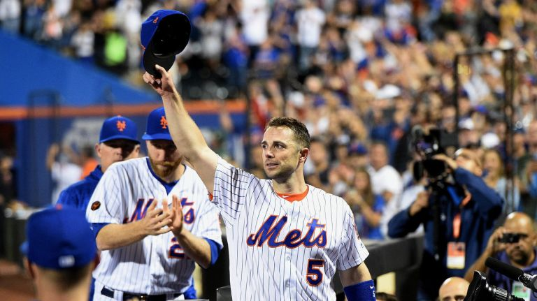 David Wright is a Mets legend.
