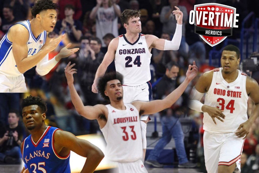 College Basketball Power Rankings Week 7 Overtime Heroics