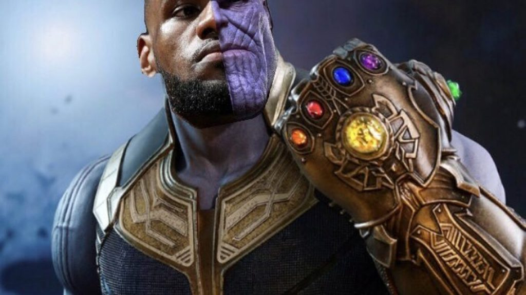 lebron james and thanos 1280x720 1
