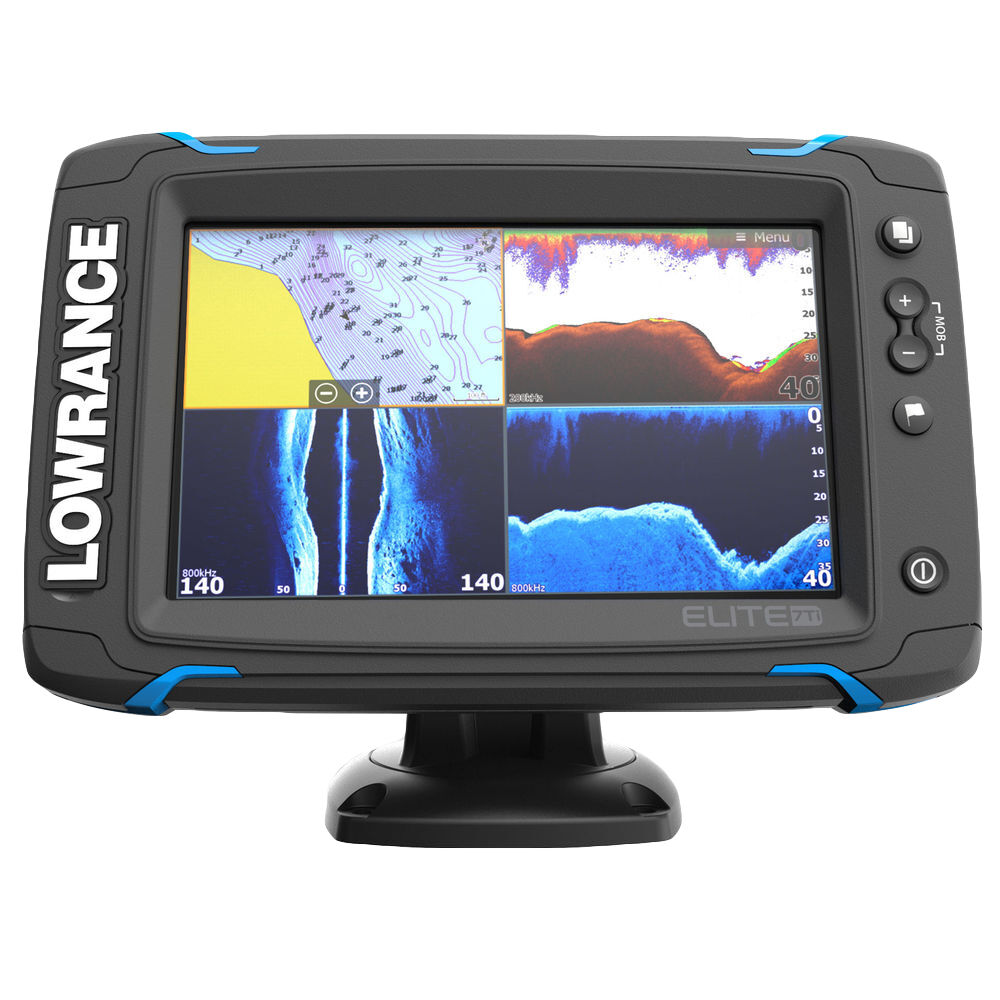 small resolution of lowrance elite 7 ti chirp fishfinder chartplotter w structurescan overton s
