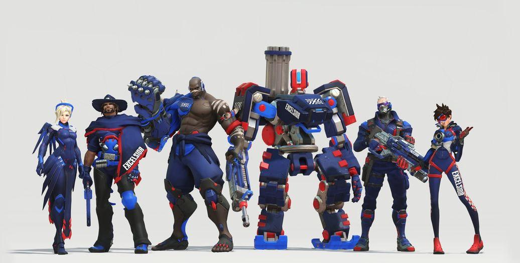 Overwatch League Les Skins Dquipe Sont Dsormais