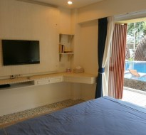 Mykonos Hua hin apartment B poolview