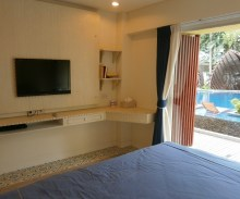 Mykonos Hua hin apartment B poolview
