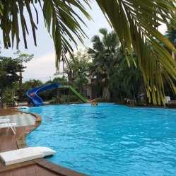 zwemmen in Cha-am