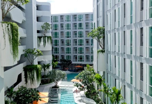 Phuket appartement The Base downtown huren