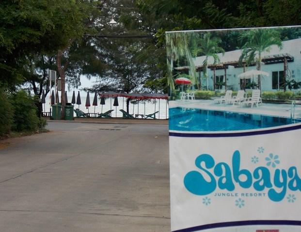 Sabaya resort afstand naar het strand