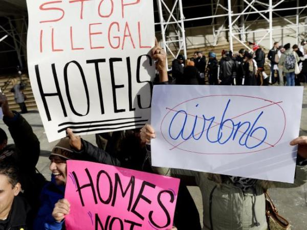 no airbnb illegal
