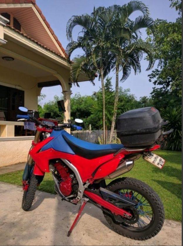 Huur een Honda 250CC motor