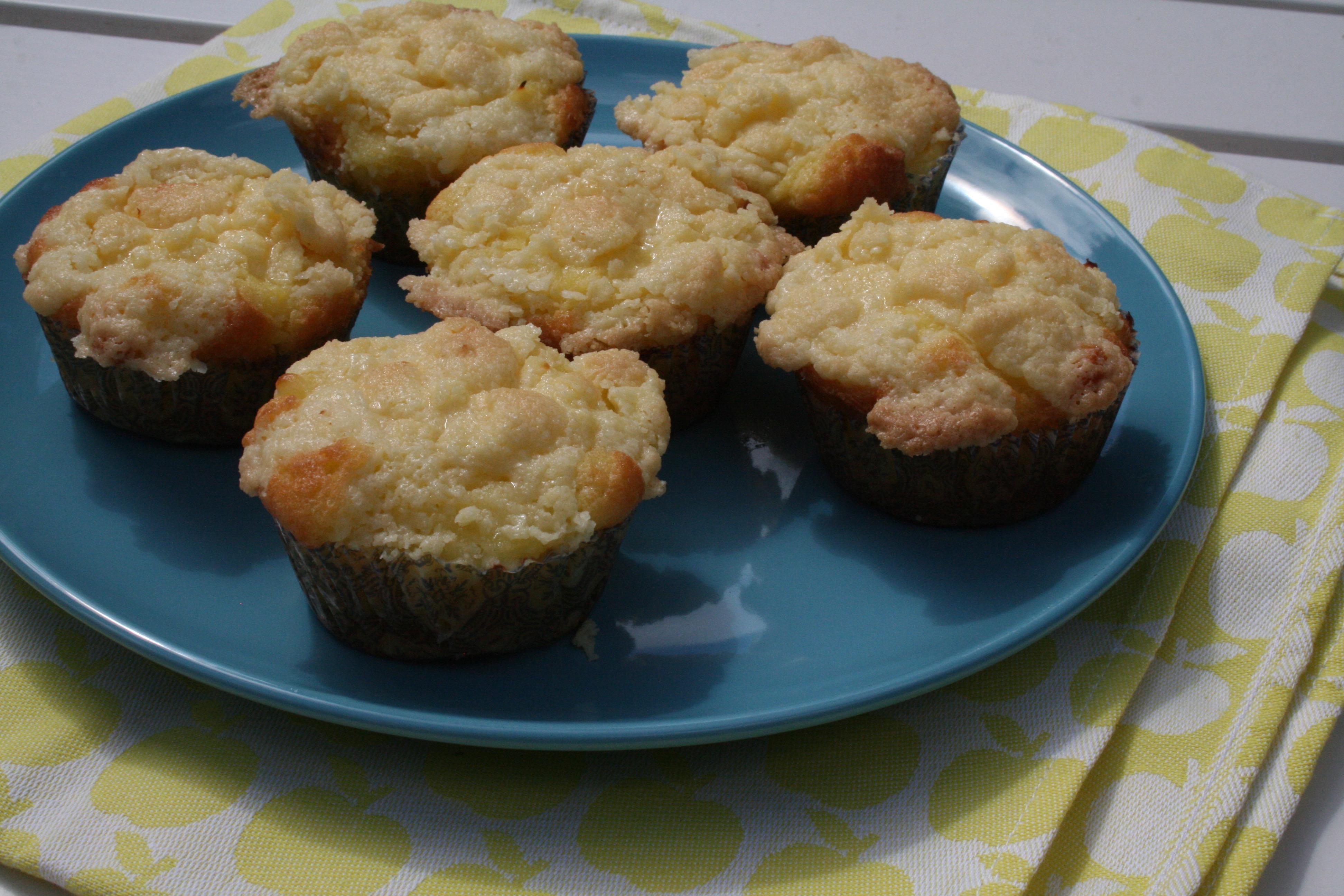 Kruimelcupcakes met banketbakkersroom