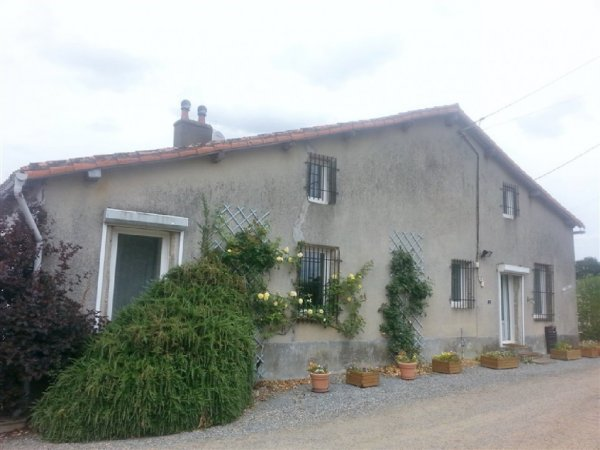 House for Sale in Secondigny, Poitou-Charentes, France