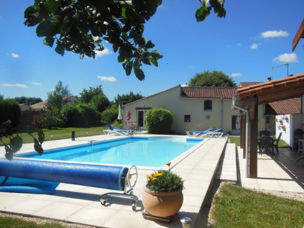 House for Sale in Vasles, Poitou-Charentes, France