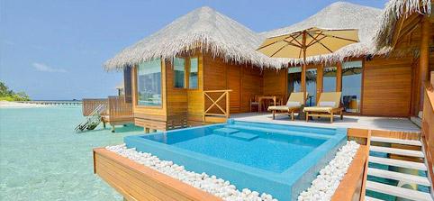 Maldives Water Villa Book Best Maldives Overwater Bungalow