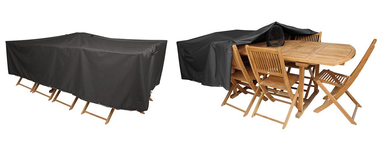 housse table et chaises de jardin