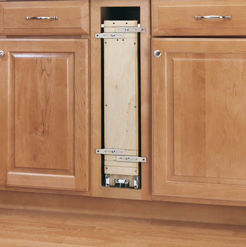 Soft Close Base Cabinet Organizer 8 inch4Tier PullOut