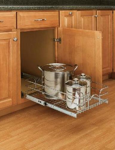 Rev-A-Shelf 5WB1 Series Pull-Out Wire Basket