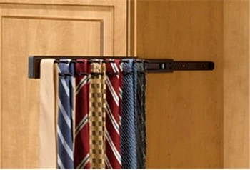 Pull Out Tie Rack 14 inch Oil Rubbed Bronze TRC14ORB
