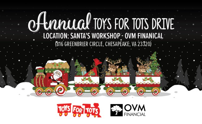 Ovm Financial Hosts Annual Toys For Tots Christmas Toy Drive