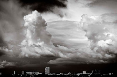 Creative clouds B&W