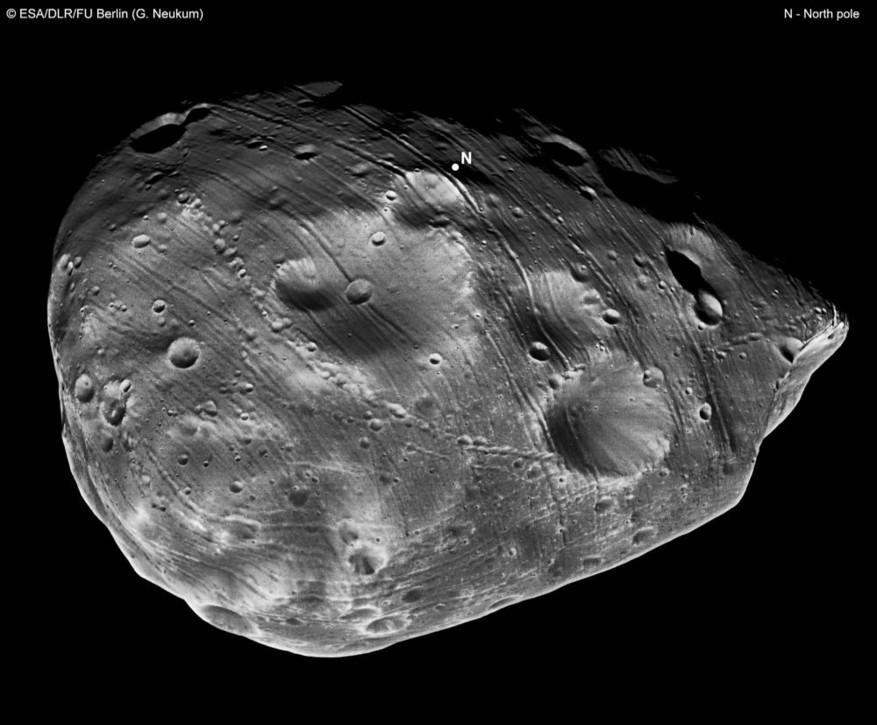 A lua Fobos pode ter as respostas para se houve vida em Marte