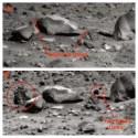 Estranha 'rocha' parece se movimentar em Marte 28