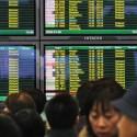 Tráfego aéreo é interrompido no leste da China 1
