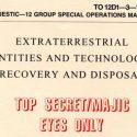 MJ-12: Nova investigação mostra que documento que expõe contato extraterrestre é autêntico 1