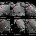 Algo estranho está acontecendo na superfície do Cometa 67P 3
