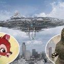 A humanidade não teria chance alguma contra uma invasão por ETs - Como Bambi versus Godzilla 2