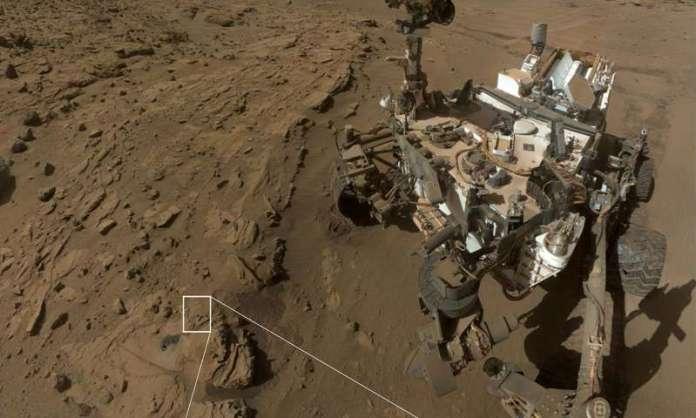 Falha desliga jipe-sonda Curiosity em Marte