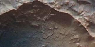 muralhas em Marte