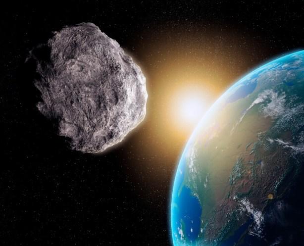 NASA informa: Cinco asteroides vêm em nossa direção, depois que um que passou mais perto do que a Lua