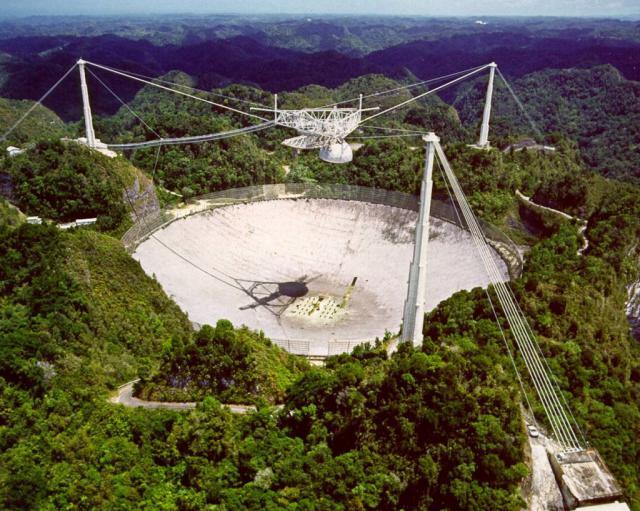 sinais de rádio vindos do espaço