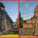 Similaridades impossíveis: 2 templos, 14.000 quilômetros os separando 33