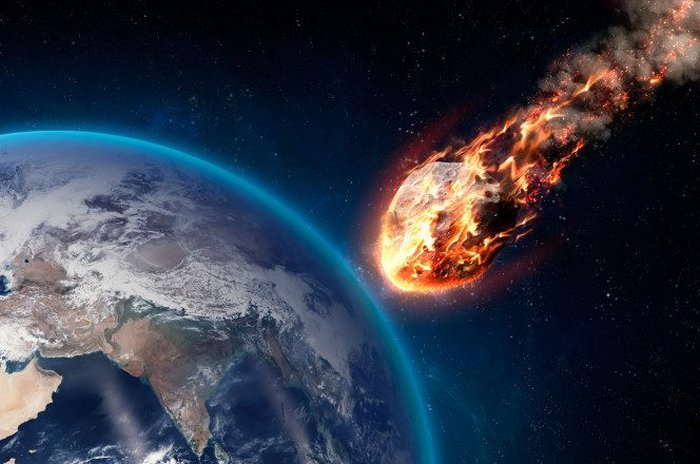 Asteroide do tamanho de um automóvel explode na atmosfera terrestre