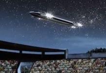 OVNI que apareceu sobre estádio de futebol lotado em 1982