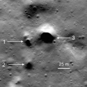 Misteriosas entradas de túneis são encontradas na Lua 7