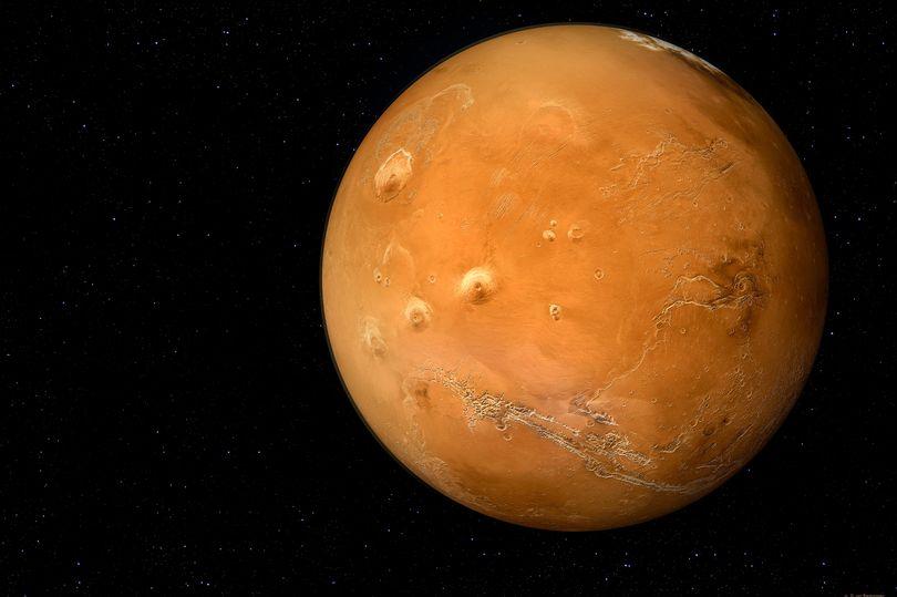 vida em Marte hoje