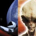 Elon Musk dá dica aos alienígenas sobre a origem de seu automóvel que foi lançado ao espaço 17