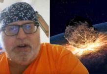 Agora, um outro auto-proclamado viajante do tempo, que diz ter ido até o ano 2061, retornou a 2018 para alertar sobre um cataclismo cósmico.