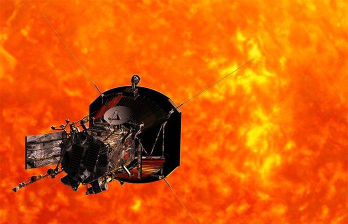 """Veja este impressionante vídeo feito por sonda enviada para """"tocar"""" o Sol"""