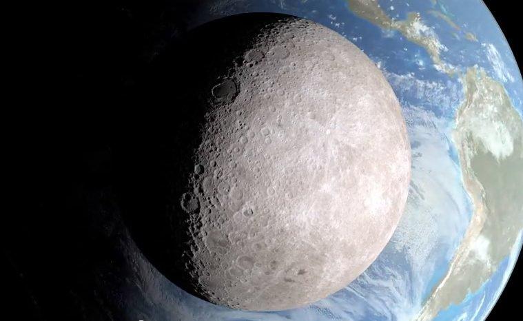 Lua está encolhendo e tremendo
