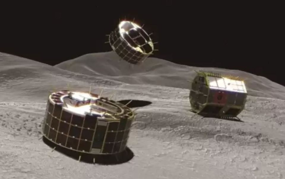 Sonda espacial japonesa Hayabusa2 agita entulho na superfície de asteroide